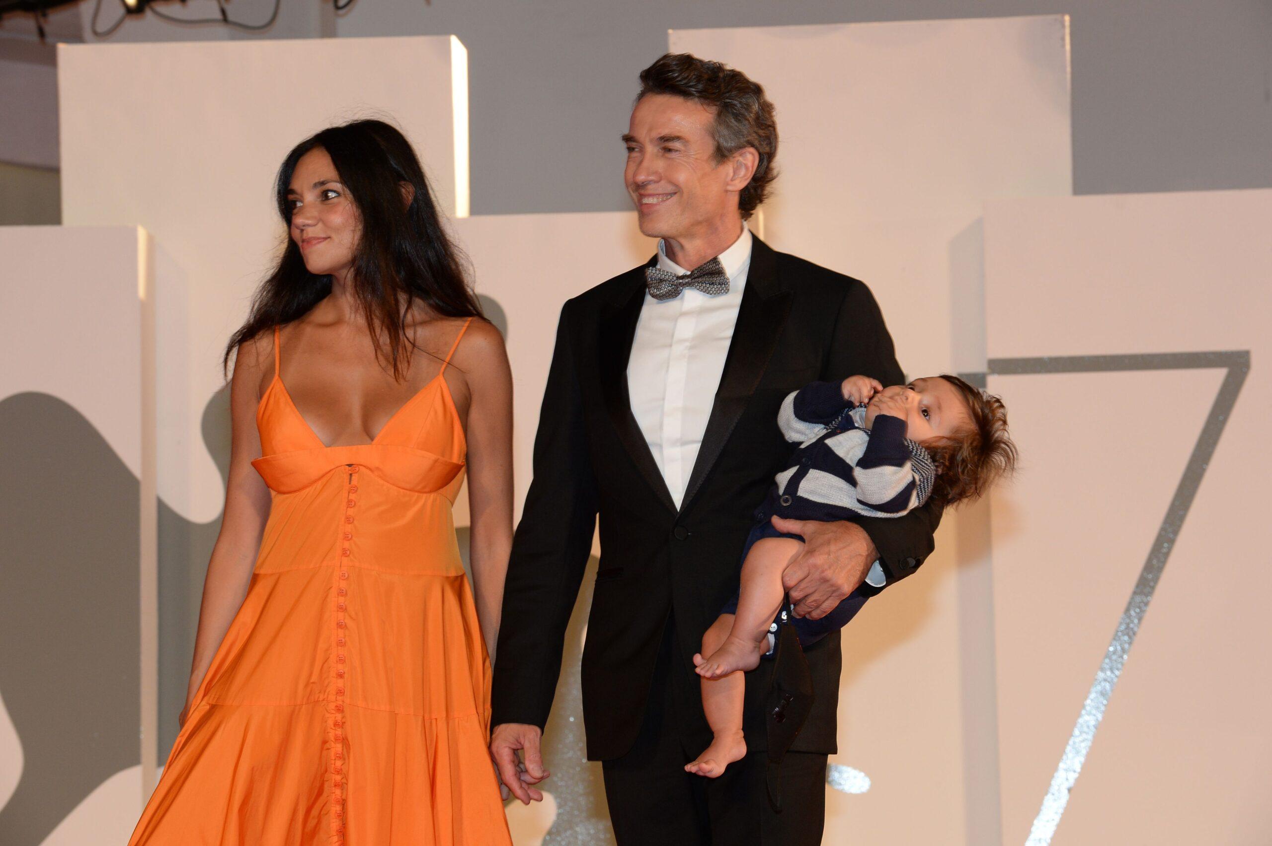 Alessio Boni, Nina Verdelli e il loro piccolo Lorenzo