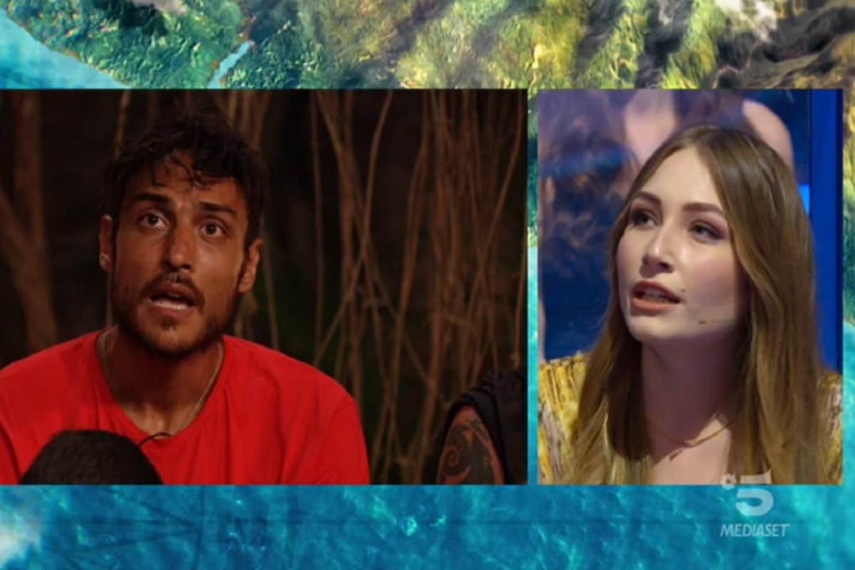 Isola dei Famosi ieri: la figlia di Brando Giorgi asfalta Awed «Sciacquati la bocca»