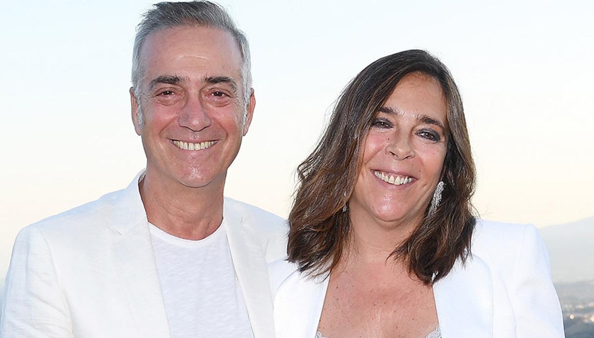 Massimo Ghini e sua moglie / Foto: DiLei