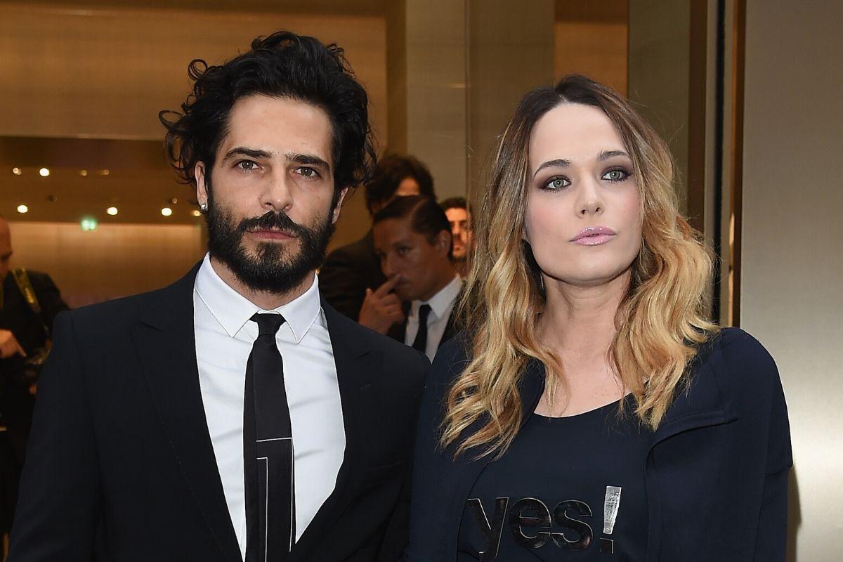 Laura Chiatti con il marito, l'attore Marco Bocci