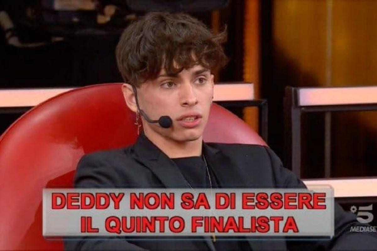 Amici: chi va in finale? Deddy è il quinto finalista a sorpresa VIDEO