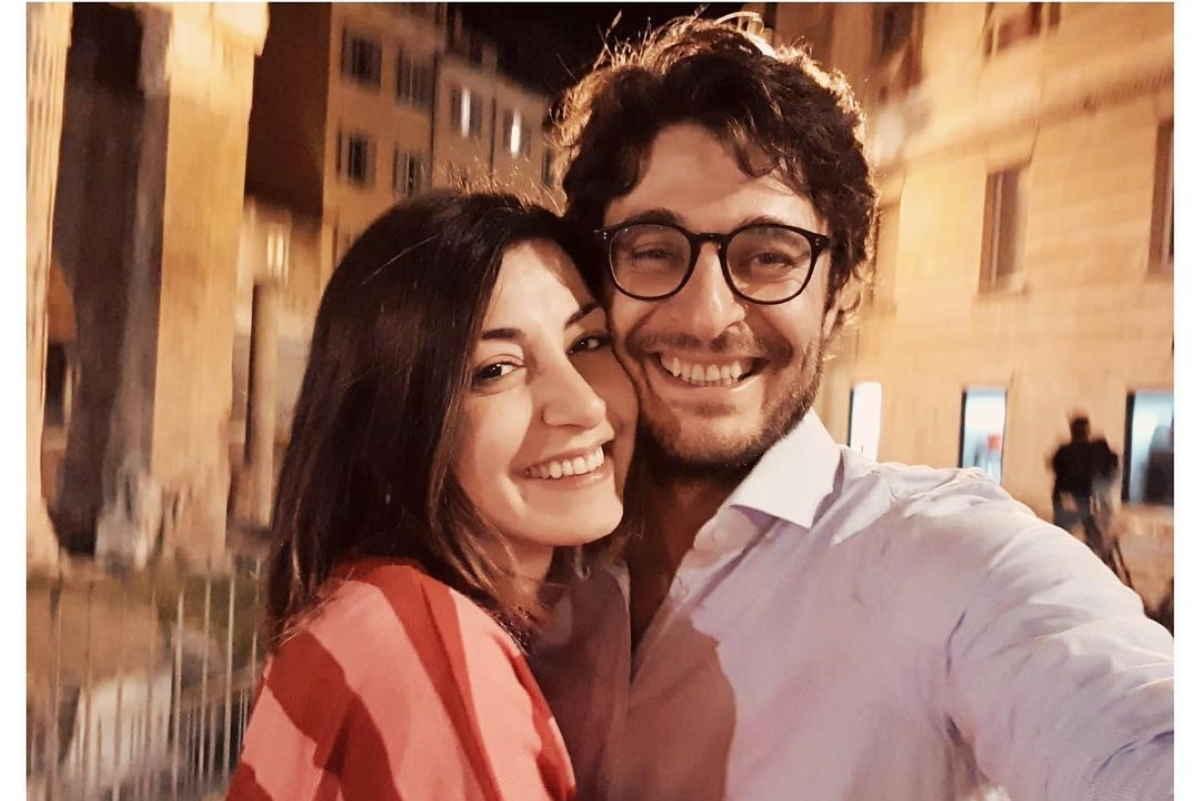 Lino Guanciale e la moglie Antonella Liuzzo / Foto: @moonriver_al [IG]