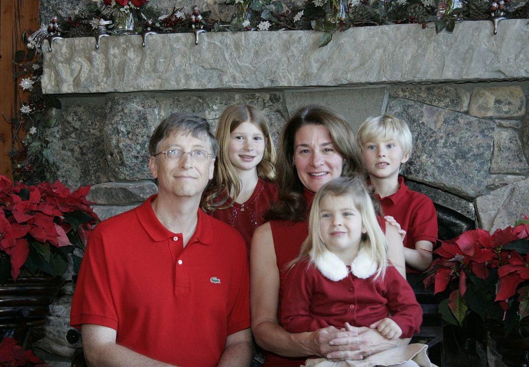 bill gates moglie figli