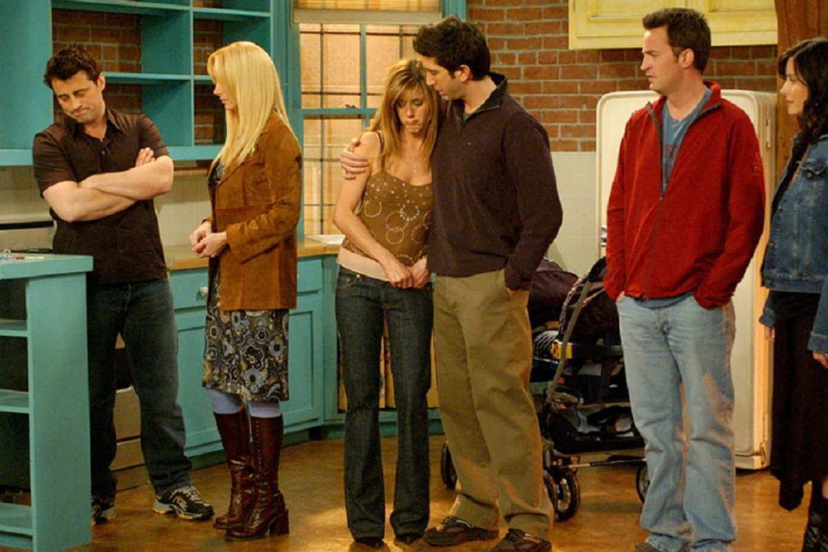 friends ultima puntata reunion come finisce