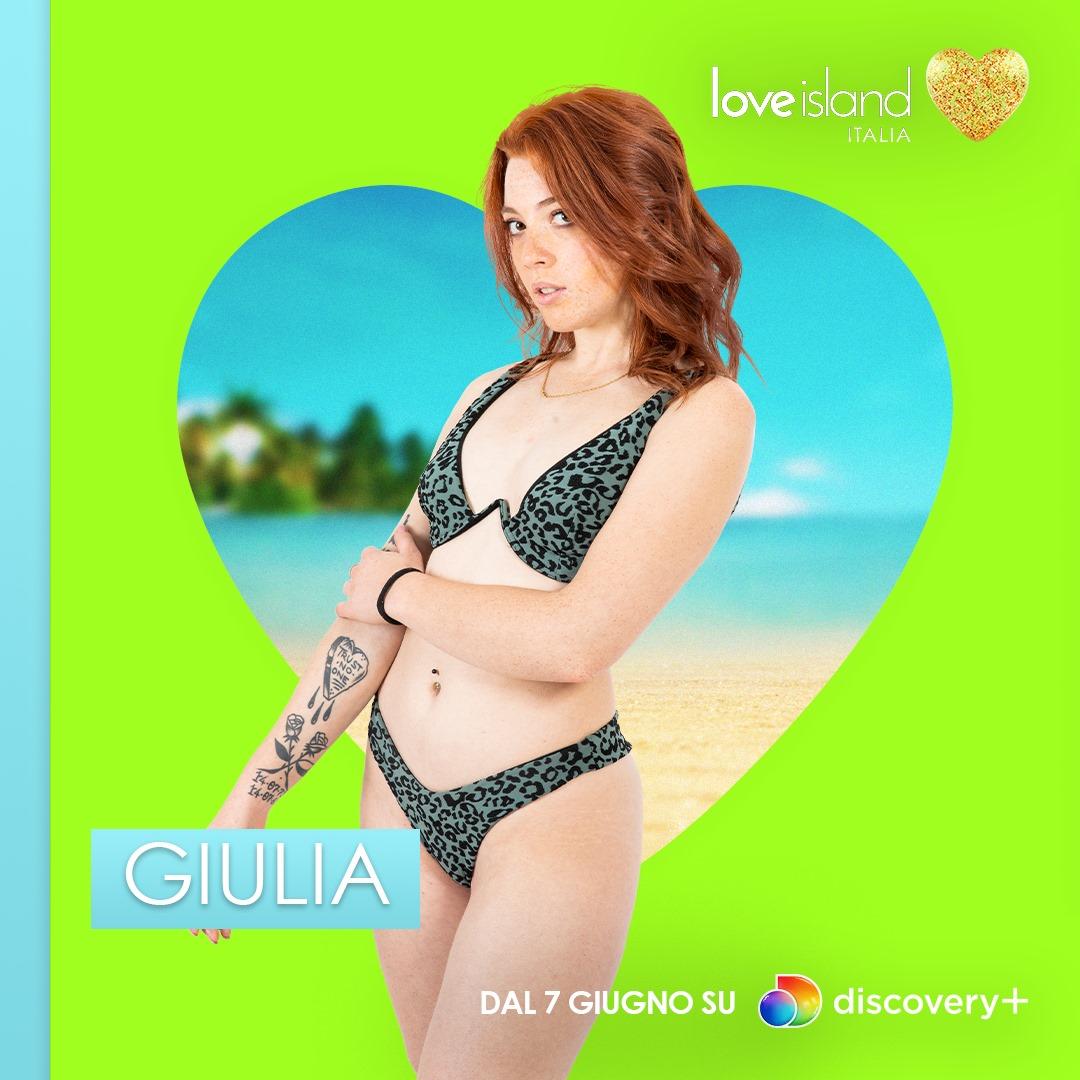 Love Island Italia Giulia cast concorrenti