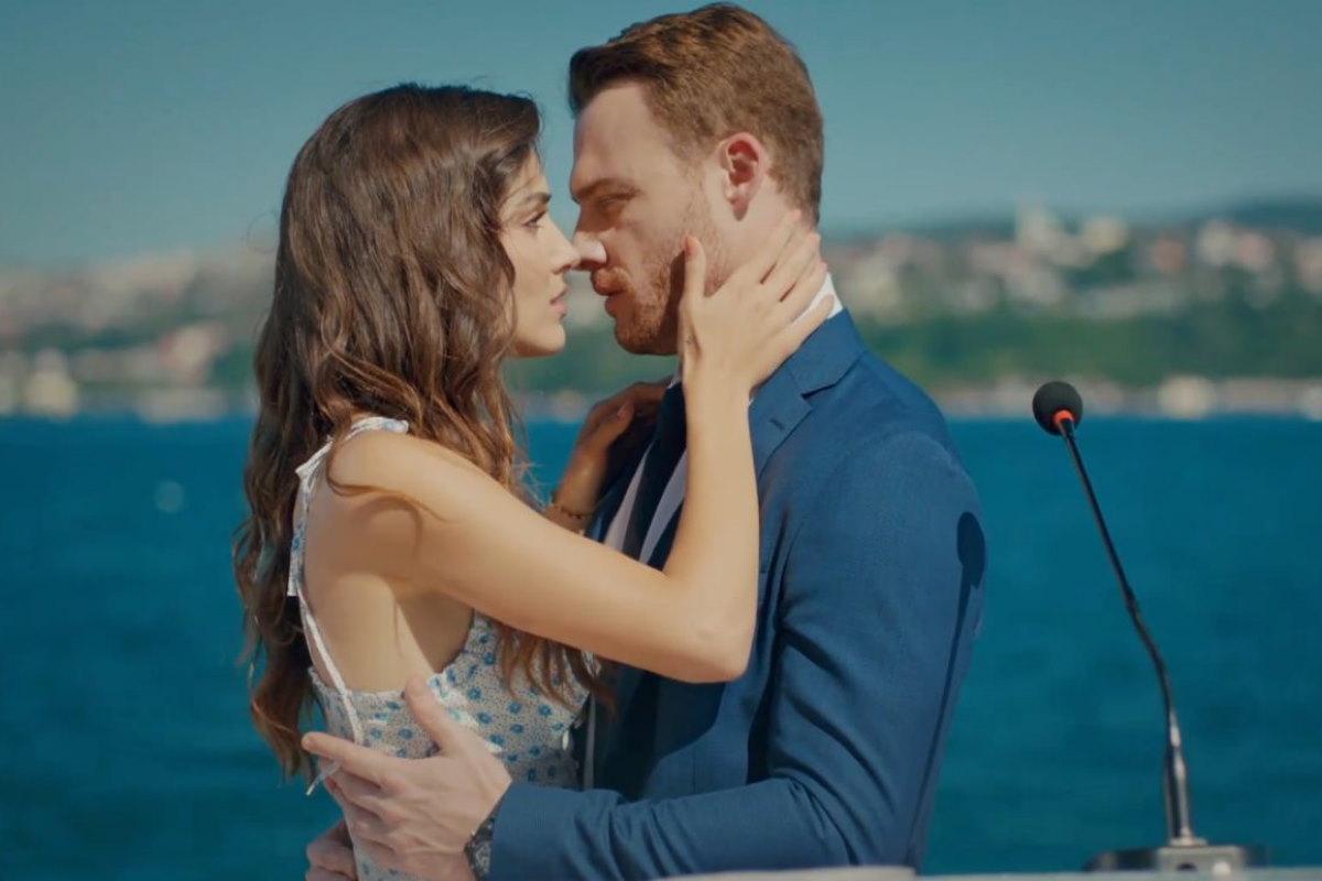 love is in the air ultima puntata ieri serkan eda bacio